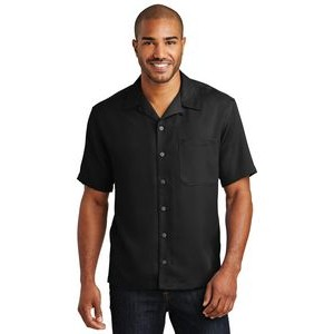 Port Authority® Short Sleeve Easy Care Camp Shirt
