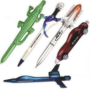 Pen Group - PG1- Dolphin, Alligator, Space Shuttle, Race Car & Airplane