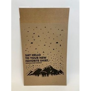 "Eco-Natural Paper Mailer w/Peel and Seal Closure (14.25""x20"")"